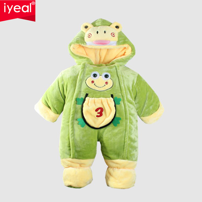 IYEAL New Year newborn baby winter romper thick wadded Clothes For baby boys girls warm cotton-padded Jumpsuit Baby Wear Retail puseky 2017 infant romper baby boys girls jumpsuit newborn bebe clothing hooded toddler baby clothes cute panda romper costumes