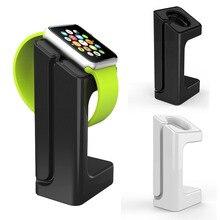 מטען מחזיק עבור אפל שעון Dock תחנת Stand שעון להקת הר עבור Apple שעון 1 2 3 42mm 38mm טעינה חכם שעון סוגר