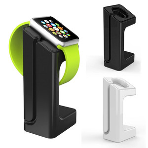 Image 1 - Support de chargeur pour Apple montre Station daccueil support de montre bracelet de montage pour Apple Watch 1 2 3 42mm 38mm charge support de montre intelligente