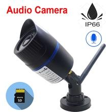 Cámara IP Wifi JIENUO 1080P 960P 720P inalámbrica P2P CCTV, cámara tipo bala, ranura para tarjeta TF, cámara de vigilancia, vídeo de seguridad y Audio