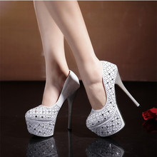 Crystal 16CM Bride Shoes