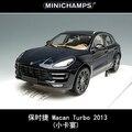 Brand New Minichamps 1/18 Escala 2013 Po * r-sc * él MACAN TURBO SUV Modelo de Coche de Metal juguete De Colección/Regalo/Decoración