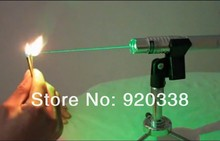 Free shipping / New / 10000mw 532nm Green Laser Pointers Flashlight Combustion Lgnition / Cutting /Irradiate 5000m