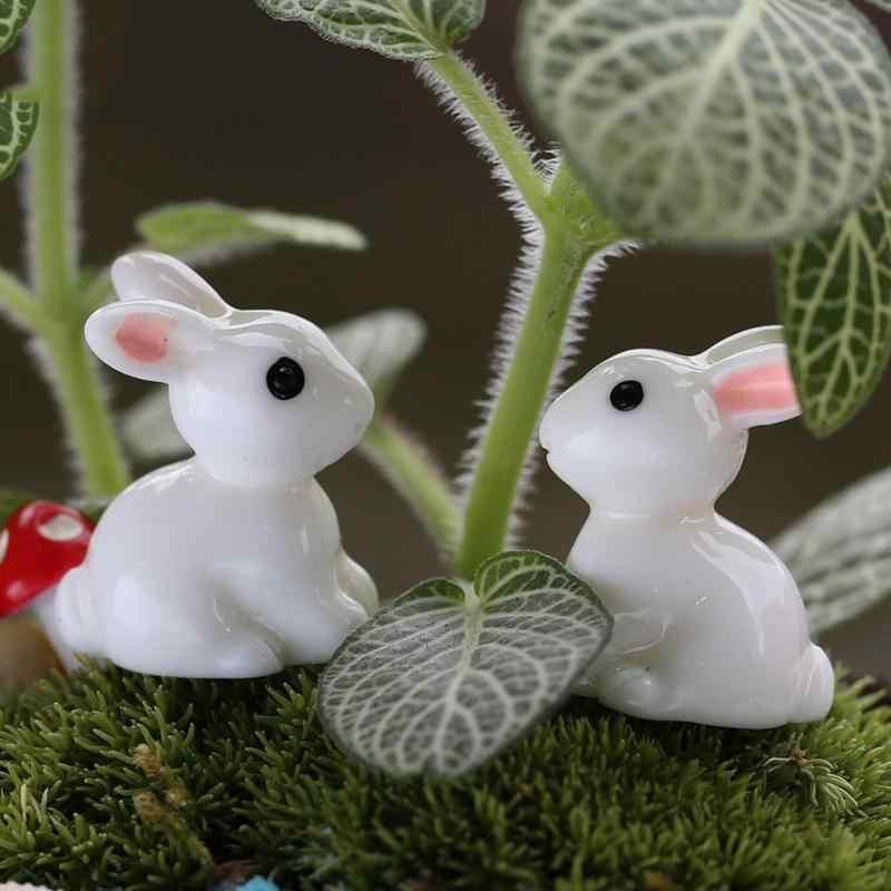 2 ピースミニ飾りミニチュア置物植木鉢ホーム工芸古典アートグッズ庭の装飾のおもちゃ