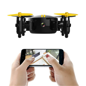 Image 5 - Quadcopter HR drone mini folding remote control aircraft HD aerial camera small aircraft with replaceable battery