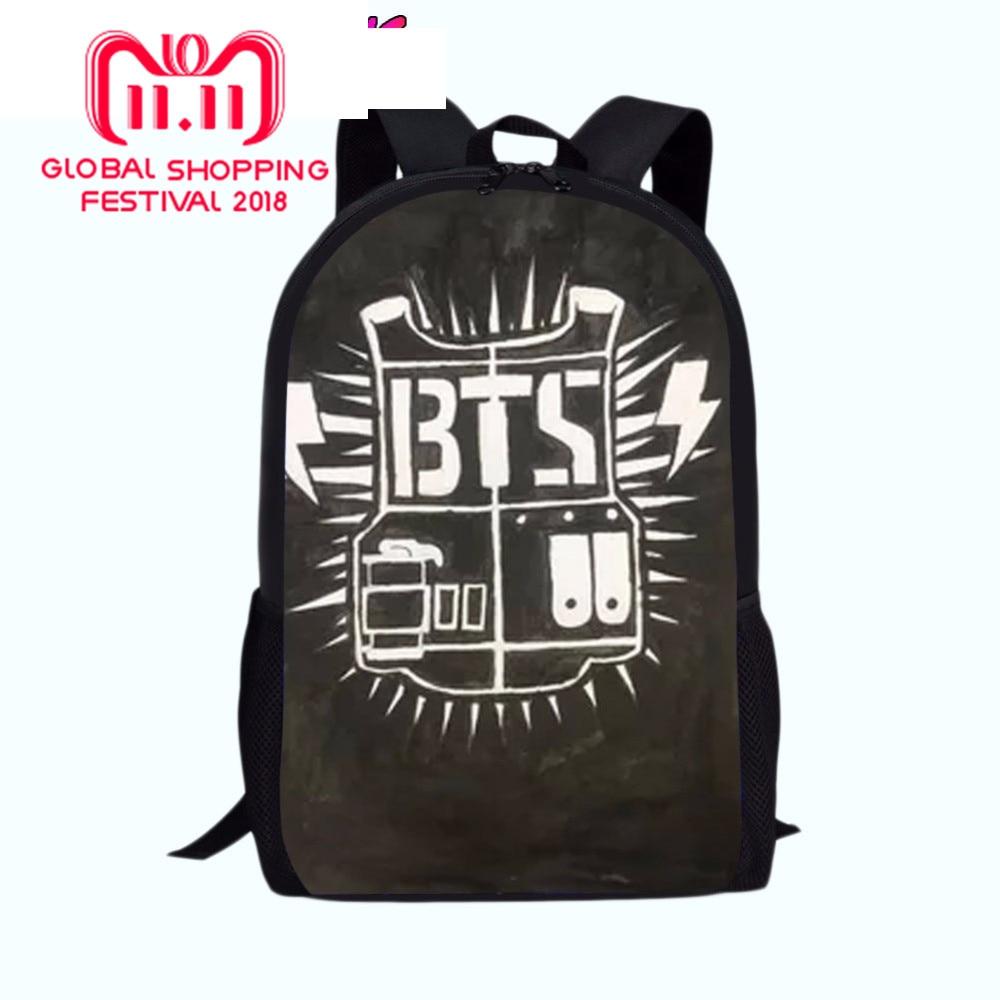 c036c5e1d35d Книга сумка BTS фильм школьные сумки для мальчиков девочек рюкзаки Школьные  принадлежности школьный ранец для девочек детские школьные шлем.