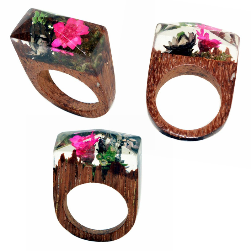 popular wooden rings jewelry buy cheap wooden rings