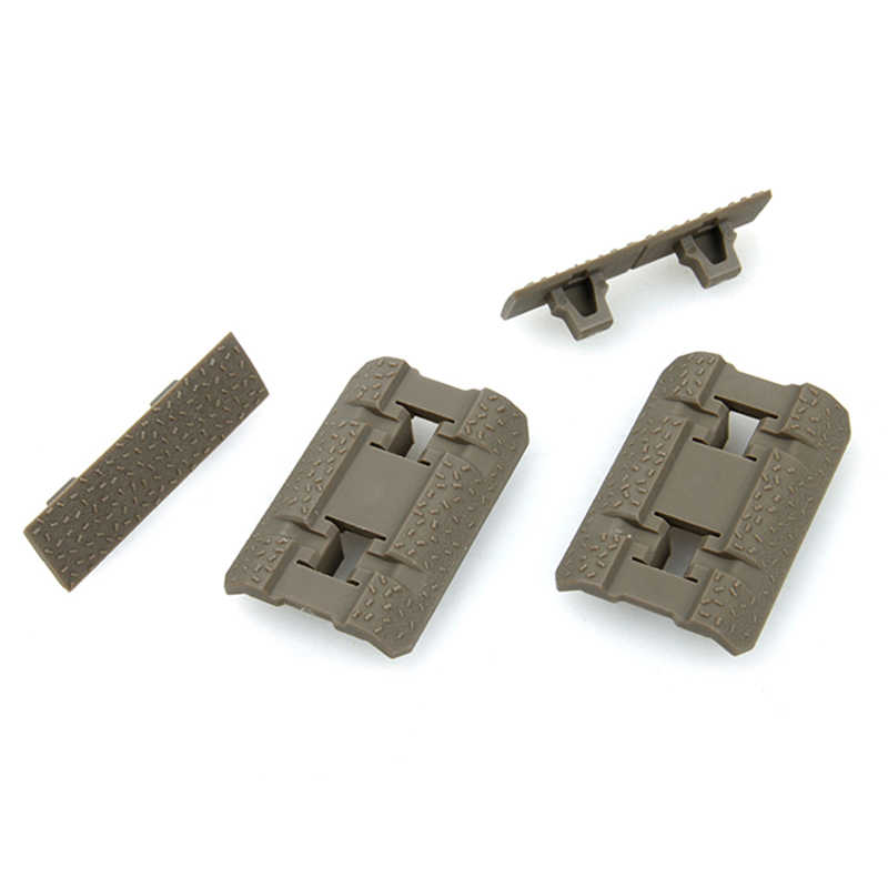 TMC Tactical M-lock Hand Stop Kit Handguard Panel Low-Profile Rail Covers Camo