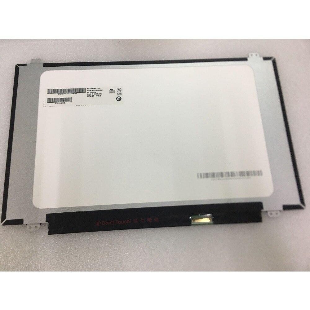 14 0 IPS FHD LAPTOP LCD Screen B140HAN04 2 For AUO E204356 FRU P N 5D10M42869