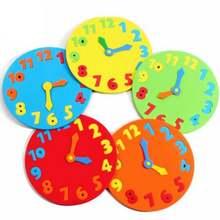 5 шт детские часы из ЭВА 18 х18 см