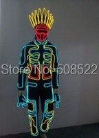 Cool LED Stage Wear Cosplay Romance Glowing Clothes Stylové mniši Clubwear LED kostýmy na večírky