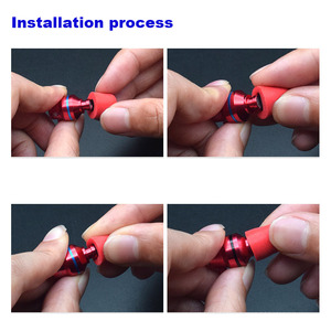 Image 5 - Almohadillas ANJIRUI T400 M calibre 12,5mm 4,9mm/tapa T400 almohadillas de espuma de memoria T500 para puntas de auriculares dentro de la oreja esponja