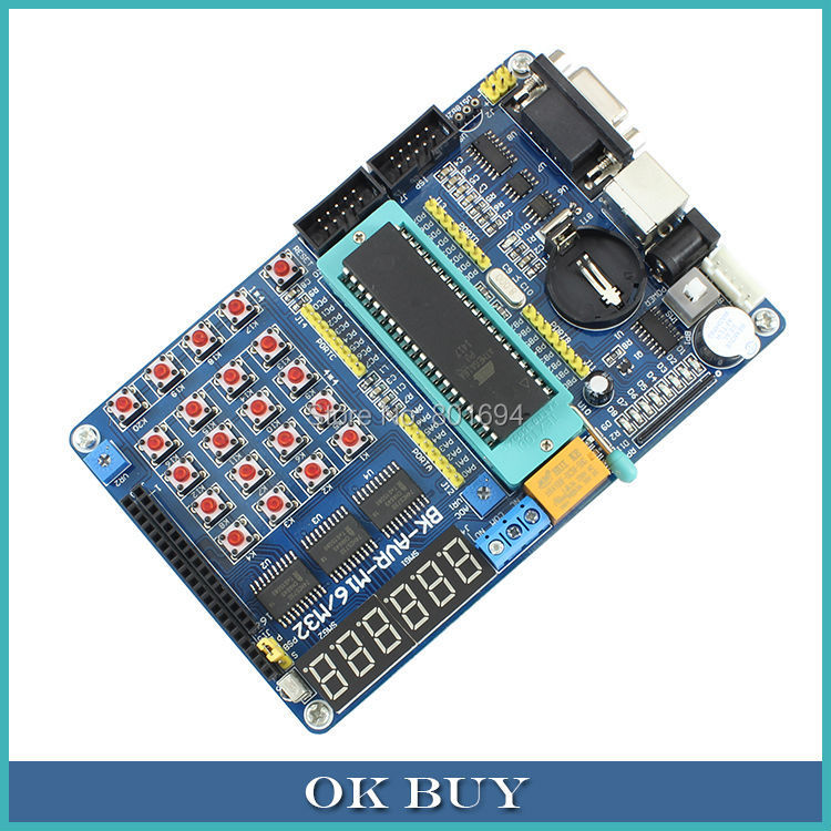 ATMEGA16A Chip Core AVR SCM Development Board Learning Board Test Board Programmer With Pins atmega16a chip core avr scm development board learning board test board programmer with pins