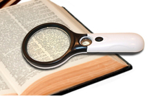 Magnifying Glass 3X 45X 3LED Lights Magnifier With Light Child Elderly Science TOY Gift 3X LED Light For Night Reading