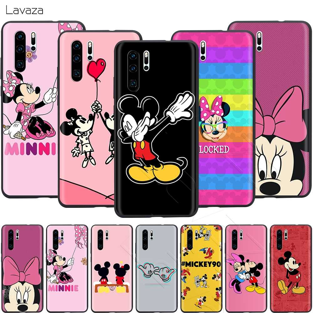 Lavaza Beijando Mickey Minnie Mouse Case for Huawei Companheiro Y7 Y9 P8 P9 P10 P20 P30 Lite Pro P Inteligente mini 2017 2019