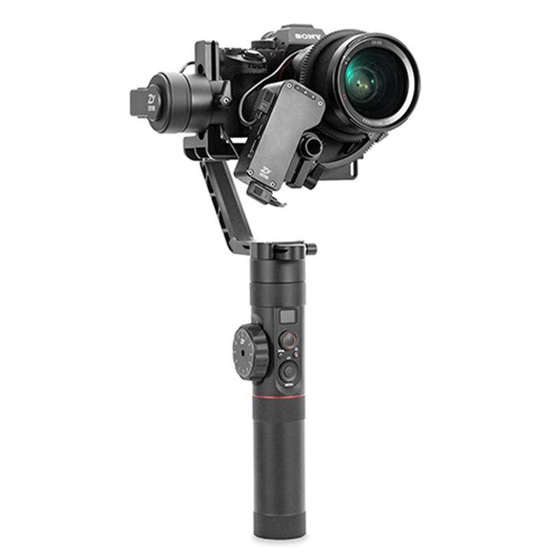 ZHIYUN CRANE 2 stabilisateur 3 axes à cardan pour tous les modèles de caméra sans miroir DSLR Canon 5D2/3/4 avec Servo suivre