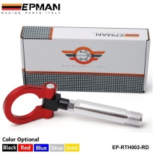 EPMAN -  NEW Aluminum Front / Rear RACING Tow Hook FIT for Toyota Yaris EP-RTH003