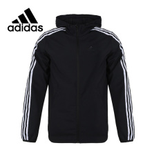 Original New Arrival Adidas WB CLASSIC 3S Men's jacket Hooded  Sportswear цена в Москве и Питере