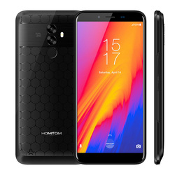HOMTOM S99 4G Phablet 5.5 inch Android 8.0 MTK6750 4+64G Smartphone 21.0MP + 2.0MP dual Camera