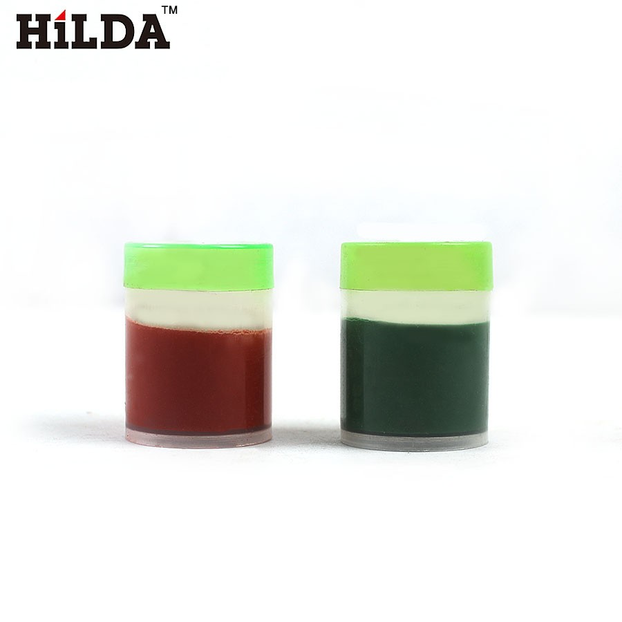 HILDA 2pcs Abrasive Pastes Polishing Grinding Lapping Paste for Polishing Wheels Electric Grinder Grit sharpener polishing wax paste metals chromium oxide green abrasive paste chromium oxide green polishing paste
