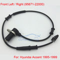 New ABS Wheel Speed Sensor Fit For Hyundai Accent Front 1995-1999 Left or Right 95671-22000 Free Shipping