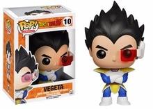 Funko Pop Dragon Ball Z Vegeta 12cm Vinyl Bobble Head Toys PVC Action Figure