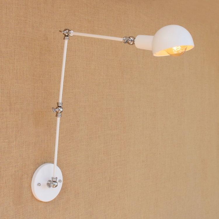 Retro Swing White Arm Wandleuchten Dinning LED Loft-Stil industrielle - Innenbeleuchtung - Foto 6