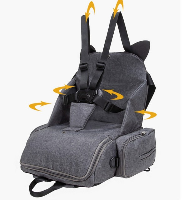 Baby Seat Diaper Backpack