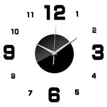 Wall-Clocks Mirror Needle-Quartz Acrylic Digital Living-Room Modern-Style New-Design