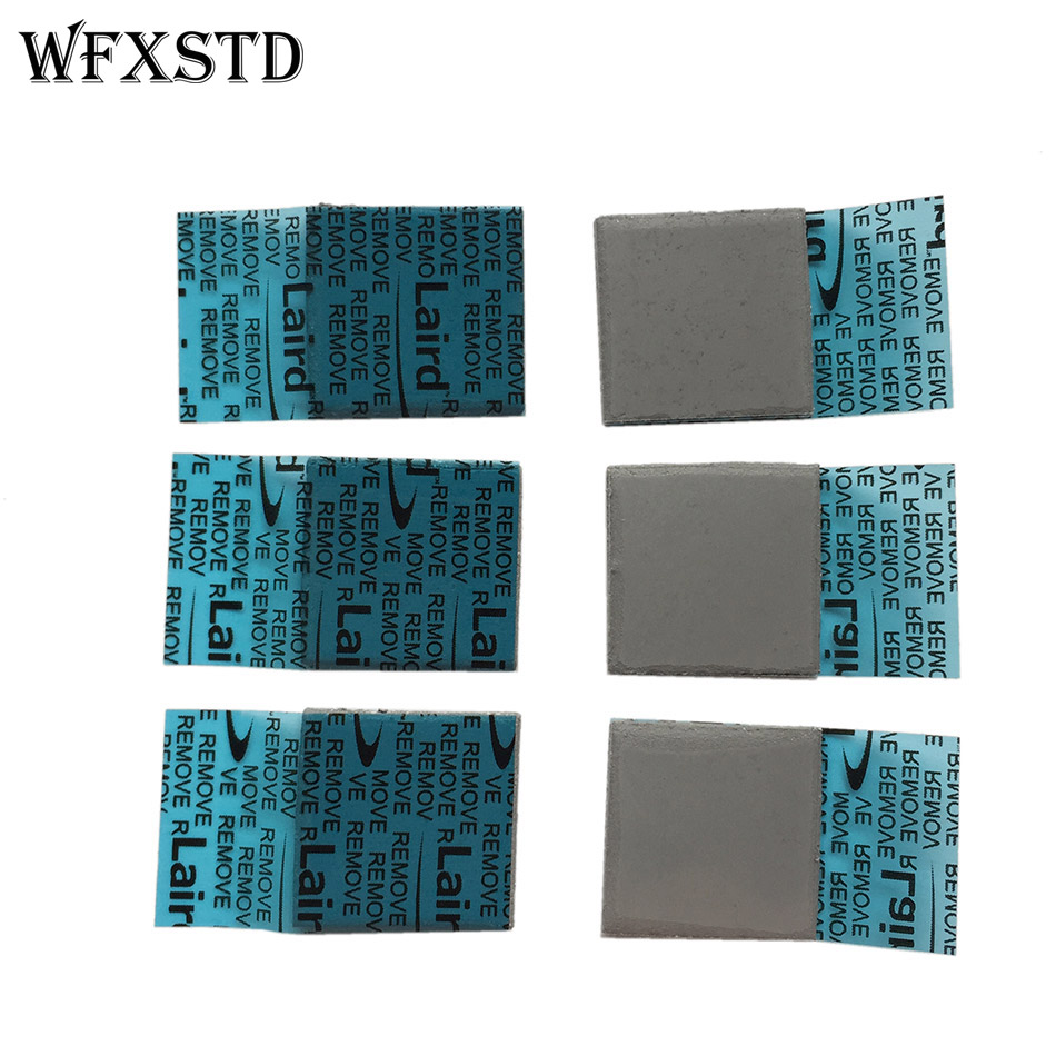 5*FLEX780 2mm Silicon Thermal Pad For LAIRD Notebook Graphics Memory Beiqiao GPU Thermal Silica Thermal Pad FLEX780 Thermal Pad flexible memory notebook motherboard north and south bridge solid thermal pad cooling silicone pad thickness 2mm
