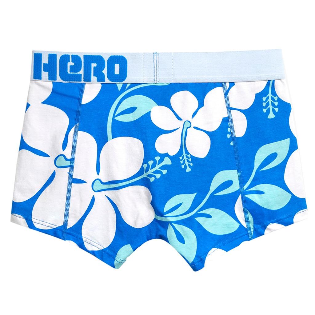 MUQGEW, летнее Мужское нижнее белье, сексуальные мужские плавки, дышащие мужские мягкие трусы, трусы, шорты, сексуальное нижнее белье#4 - Цвет: Синий