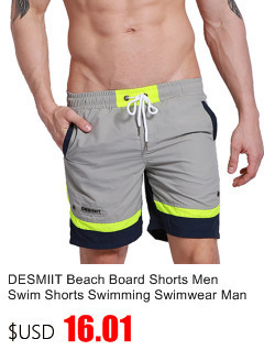 DESMIIT marca board shorts homens praia nadar