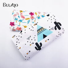 New Prints Kids cotton knitting fabric baby cotton jersey fabric by half meter DIY sewing baby clothing cloth 50*170cm