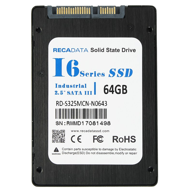 RECADATA 2.5 Inch SATA III Internal Solid State Drive 64GB/128GB/256GB SSD MLC High Speed Hard Disk For Laptop Notebook Desktop samsung internal ssd 850 pro 256gb 512gb 1tb 2tb solid state hd hard drive sata iii high speed for laptop desktop computer pc