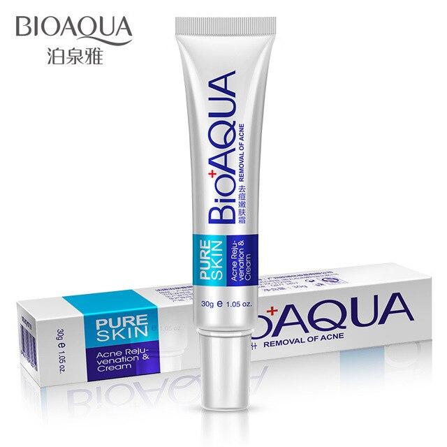 Bioaqua 30g Acne Treatment Blackhead Remova Anti Acne Cream Oil Control Shrink Pores Acne Scar Remove Face Care Whitening 1