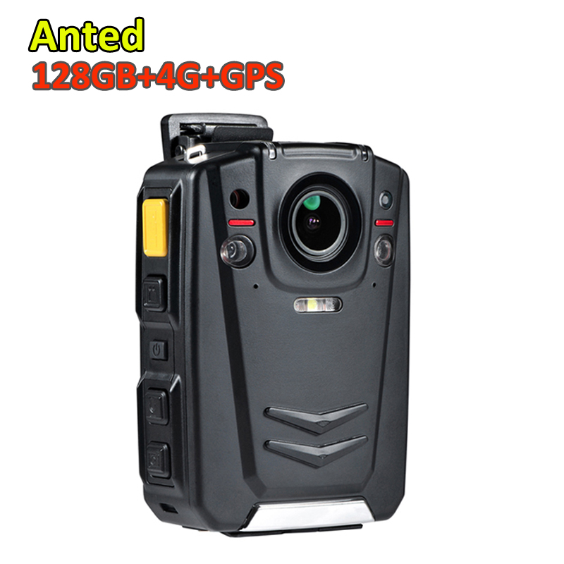HD 1080P 3G 4G GPS Police Officer Wearable Video Camera with live monitoring CMS and 2.0 inch LCD screen for law enforcement