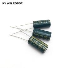 10 шт. Алюминий электролитический конденсатор с алюминиевой крышкой, 3300 мкФ 16 V 10*20 мм frekuensi tinggi Радиальные электролитические конденсаторы kapasitor