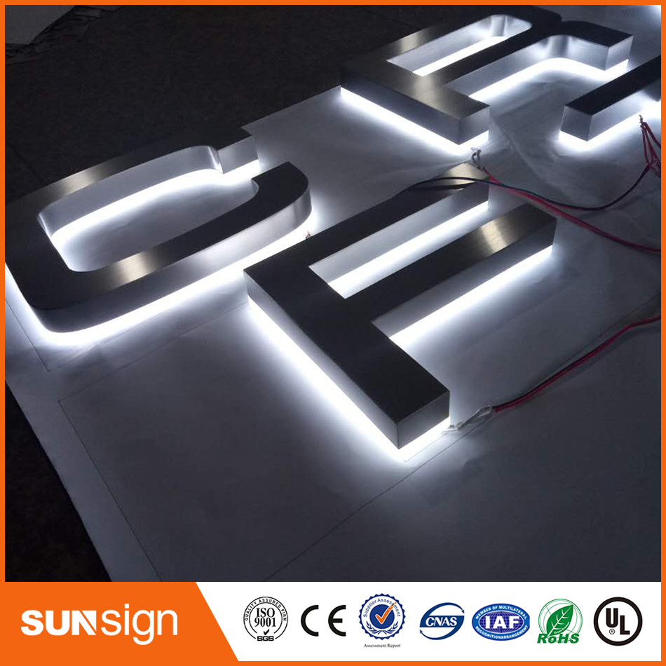 Super Bright Backlit LED Illuminated Sign