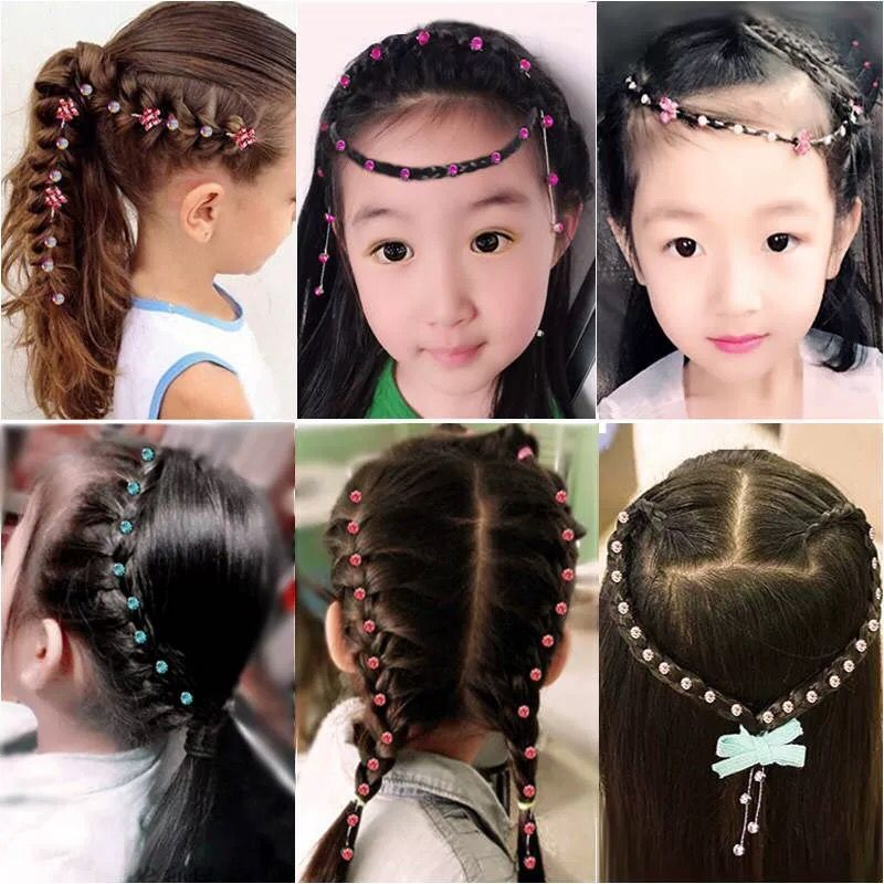 New Women Girls  Hair Clips Hair Ornament Hairpins Barrettes Headband Hair Accessories