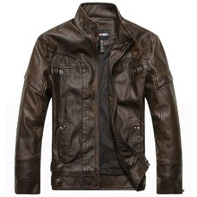 New Arrival Brand motorcycle leather jackets men ,men's leather jacket, jaqueta de couro masculina,mens leather jackets Parka