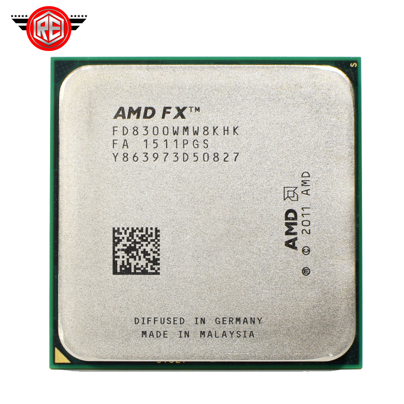 AMD FX 8300 3.3 GHz Eight Core 8M Processor Socket AM3+ CPU 95W  Bulk Package FX 8300-in CPUs from Computer & Office