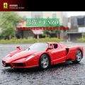 Hot toy model 1:24 super sportscar ENZO alloy model, die-casting model birthday gifts, collection, home furnishings