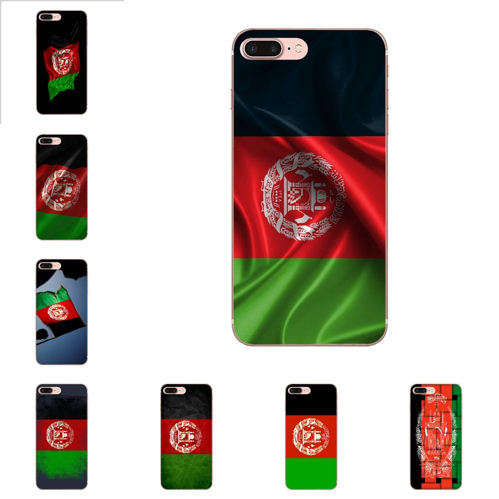 For Huawei P7 P8 P9 P10 P20 P30 Lite Mini Plus Pro 2017 2018 2019 Soft TPU Fashion Case Afghan <font><b>Afghanistan</b></font> Af Flag Banner image