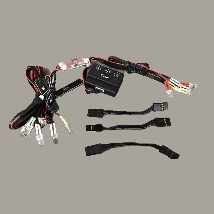 ไฟ led เดิมสำหรับ Capo JKMAX 1/10 crawler rc รถ-ใน ชิ้นส่วนและอุปกรณ์เสริม จาก ของเล่นและงานอดิเรก บน   1