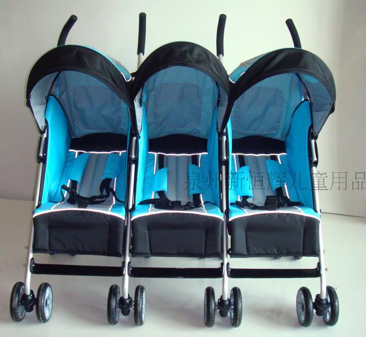 Aliexpress.com : Buy baby stroller for three babies ,3 seats baby ...