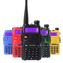 Zastone V8 и Baofeng UV-5R Walkie Talkie профессиональные CB радио Baofeng UV5R трансивер 128CH 5 Вт VHF и UHF Ручной УФ 5R радио
