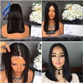 4x4 Silk Base Wig With Baby Hair Short Silk Top Full Lace Wigs Bleached Knots Bob Silk Top Lace Front Brazilian Wig