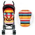 Arco iris del bebé del asiento del cochecito accesorios para cochecitos de bebé silla cojín sillas de paseo colchón Kinderwagen cochecito