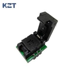 SOT23-3-0.95 Clamshell Pogo Pin Probe Test Socket SOT23-3-0.95-CP01PNL Programming Socket Pitch 0.95 Chip Size 1.3*2.8mm