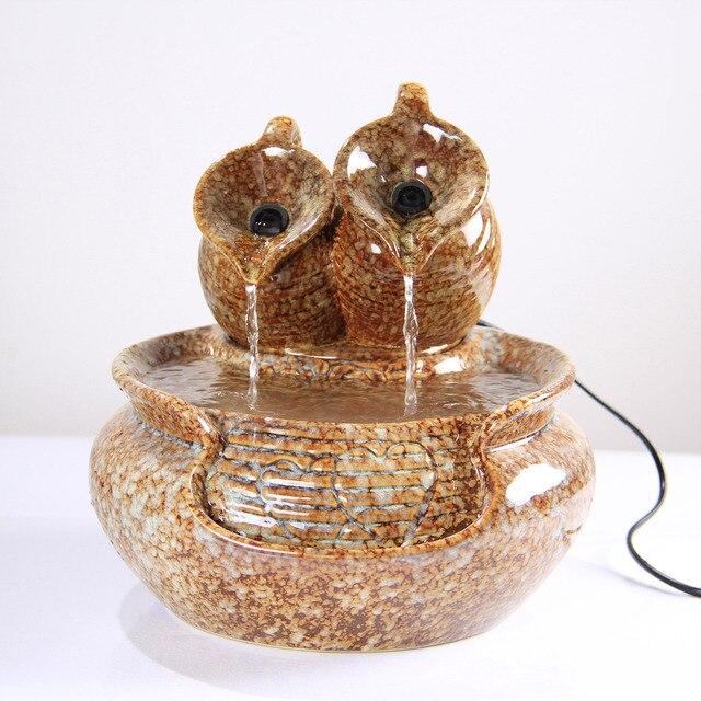 Handwerk Schmuck Wohnzimmer Büro Feng Shui Brunnen Wasserspielen